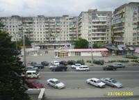 На этом снимке вид из окна гостиницы на Анапское шоссе.